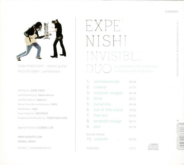 EXPE. NISHI / INVISIBLE DUO